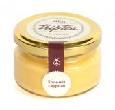 Крем-мед с курагой, 120 гр